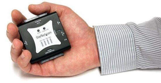 StarTech presenta su duplicador de discos SATA