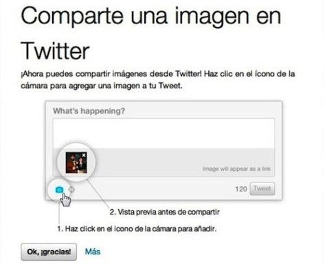 Twitter y su novedoso sistema para compartir imágenes
