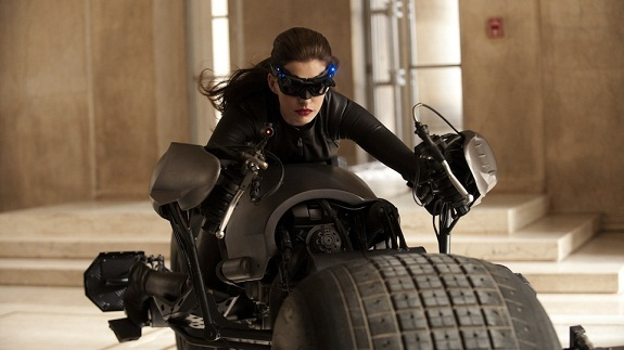 "Foto exclusiva de Anne Hathaway como Catwoman en ""The Dark Knight rises"""