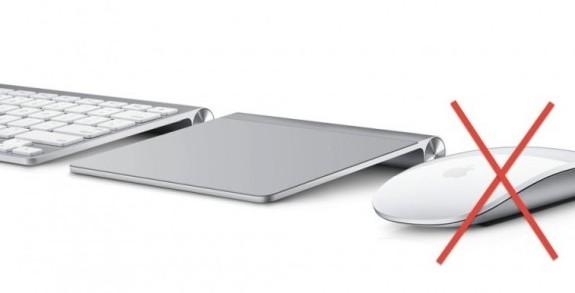 Apple suspendería el uso del Magic Mouse en favor del Magic Trackpad