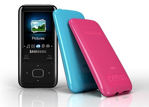 Samsung lanza sus reproductores YP-R2 y YP-Z3