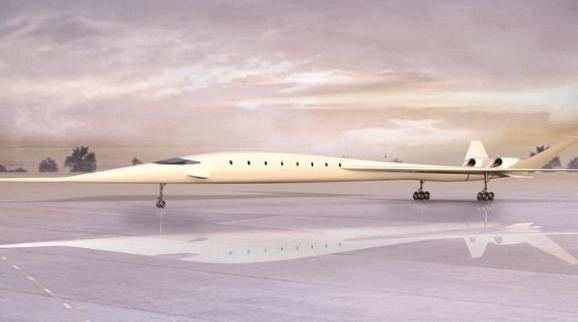 Sonicstar De Hypermach, el avión con la velocidad de un rayo
