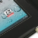 Leather Case for Apple iPad 2: Elegante cubierta de cuero