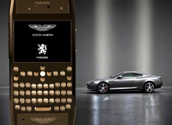 Mobiado, el  móvil oficial de Aston Martin