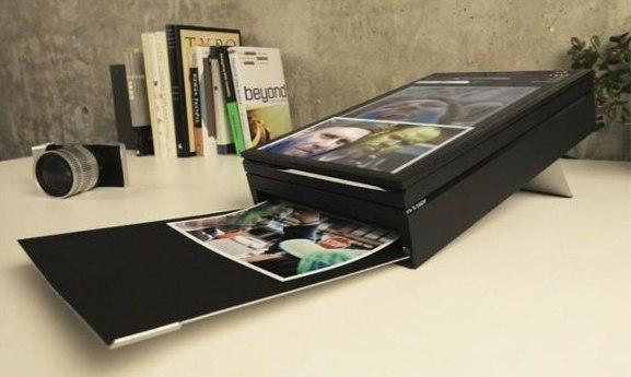 SWYP, Impresora para fotos con pantalla táctil que permite apreciar lo que vas a imprimir