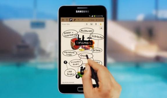 Samsung Galaxy Note, un dispositivo intermedio entre una tablet y un Smartphone