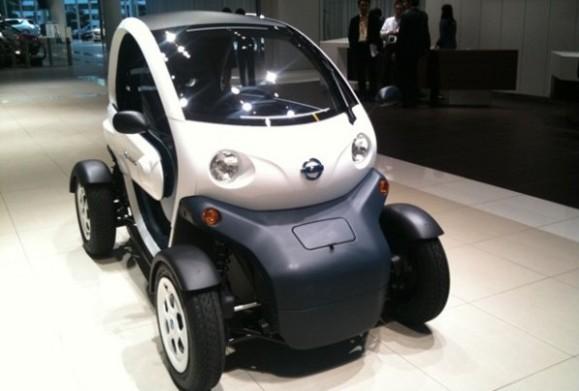 New Mobility Concept: Auto concepto de Nissan próximo en circular por las calles de Japón