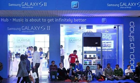 Samsung vende terminales Galaxy S II a 2 dólares en Sydney (Australia)