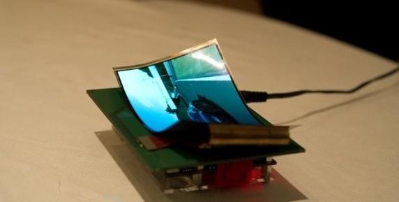 Samsung proyecta ofrecer teléfonos con pantalla flexible los primeros meses del 2012
