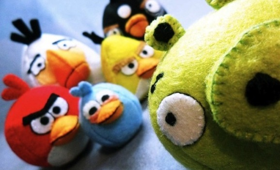 Popularidad de Angry Birds obliga abrir una tienda en China