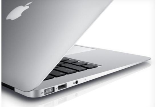 El nuevo MacBook Air listo para principios del  2012