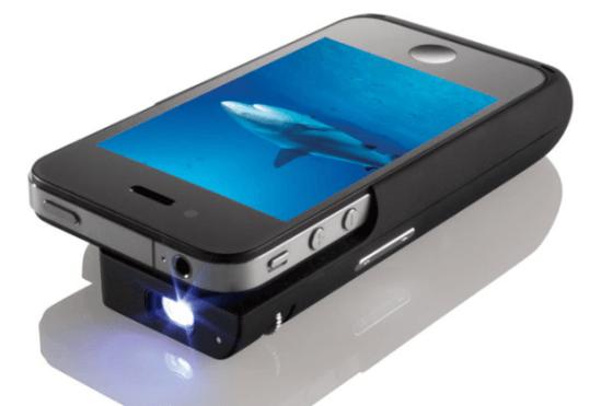 The iPhone Pocket Projector: una carcasa proyector para nuestro iPhone