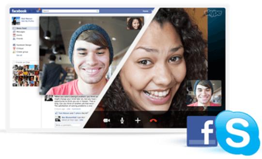Ahora podrás llamar a tus amigos de Facebook desde Skype