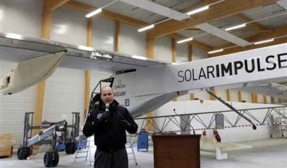 Avión Solar daría la vuelta al mundo en 2014