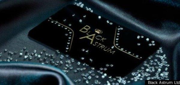 Black Astrum Signature Card, la tarjeta de presentación de negocios más cara del mundo