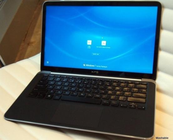 CES 2012: Dell apuesta por los ultrabooks con su modelo XPS 13