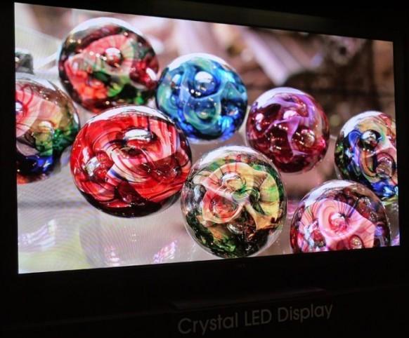 CES 2012: Sony Crystal LED una brillante pantalla para el futuro