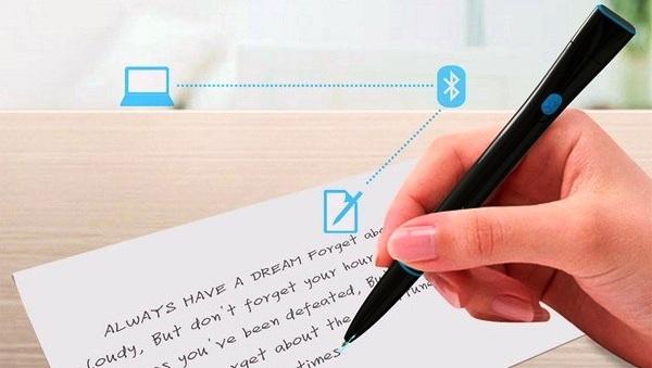 Recorder, bolígrafo que convierte lo que escribas a mano en un archivo de texto