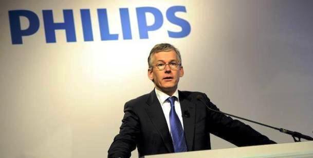 Philips reporta pérdidas originada por la mala situación económica en Europa