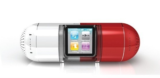 The Pill: novedosos altavoces para iPod nano