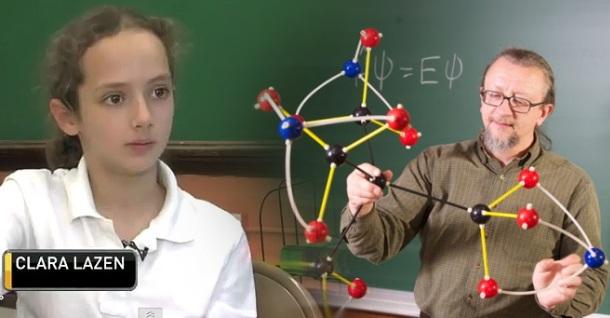 Estudiante de 10 años descubre una nueva molécula