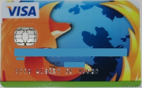 La Tarjeta Bancaria que lleva el diseño de Firefox