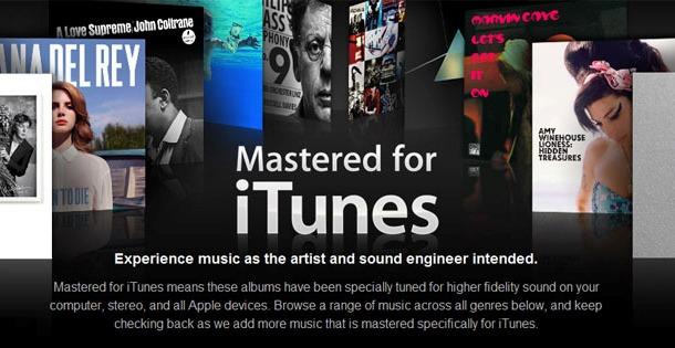 """Apple: Lanza su nueva sección musical """"Mastered for iTunes"""" en iTunes Store"""