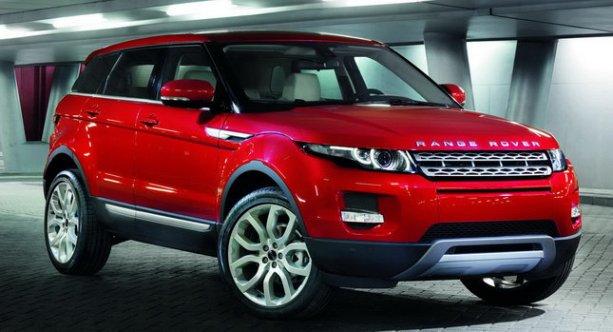 Range Rover Evoque, considerado como el mejor coche del 2012 en Gran Bretaña