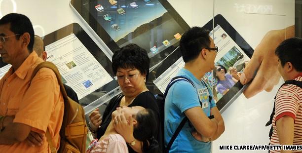 Retiran iPads del mercado Chino por problema de propiedad de la marca comercial