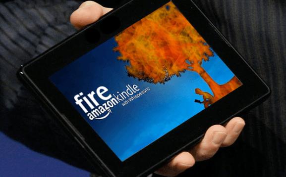 Kindle Fire consigue el 14% de la cuota mundial de tabletas