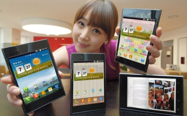 LG Optimus Vu: Se adelanta al MWC y es presentado oficialmente