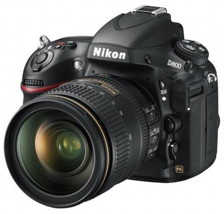 Nikon presenta la D800, una DSLR con el mayor numero de píxeles efectivos