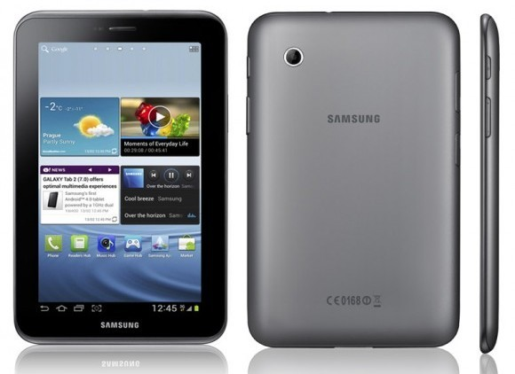 Samsung lanza su Tablet Galaxy Pad 2 con Ice Cream Sandwich