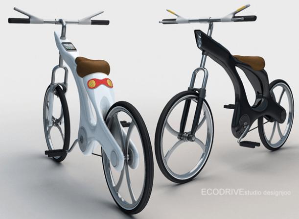Ecodrive Bicycle: bicicleta concepto con iPhone integrado y GPS