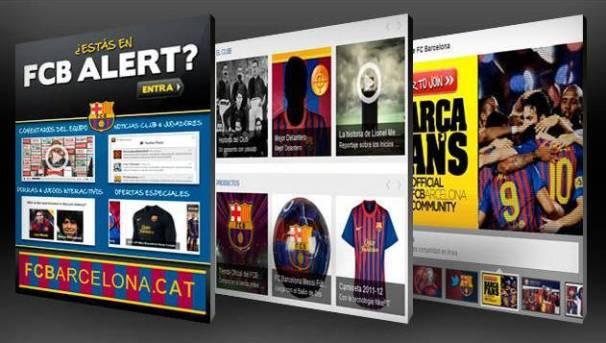 FC Barcelona anuncia lanzamiento de aplicación para facebook