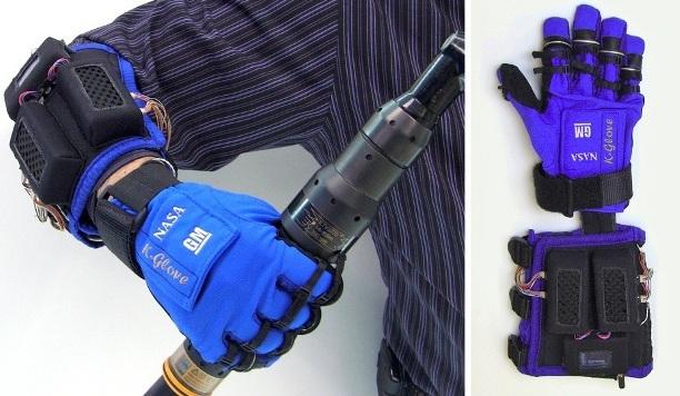 K-Glove, novedoso guante de la GM y la NASA para reducir el esfuerzo de los operarios