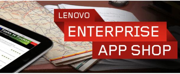 Lenovo lanza una tienda de aplicaciones exclusivo para empresas