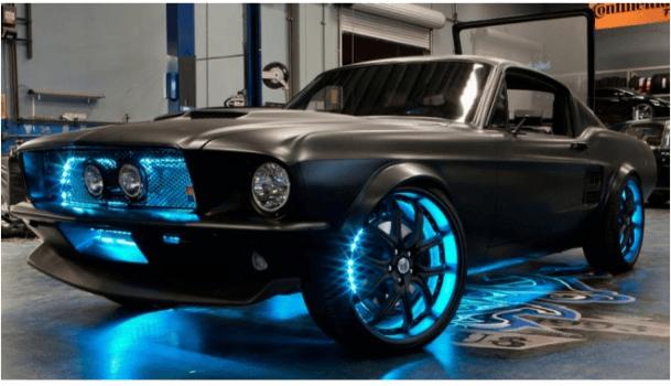 Microsoft Mustang: un coche equipado con lo más avanzado de la tecnología de Microsoft