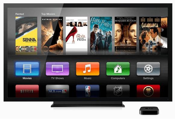 Apple TV tercera generación, con soporte para 1080p y películas en la nube