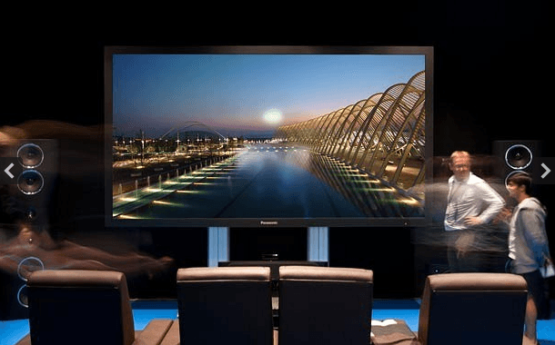Panasonic y su televisor de plasma que vale US$1 millón de dólares