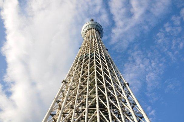 Tokyo Sky Tree, Concluye la construcción de la torre más grande del mundo