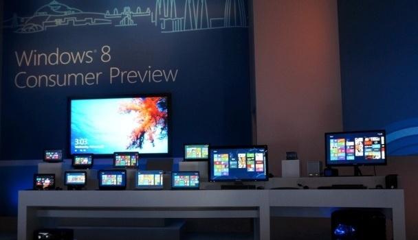 Descarga gratuita de Windows 8 Consumer Preview