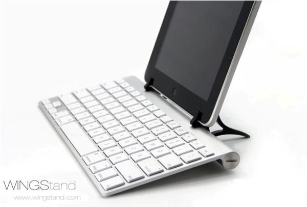 WingStand, accesorio que permite inclinar tu tablet o smartphone para escribir de manera cómoda