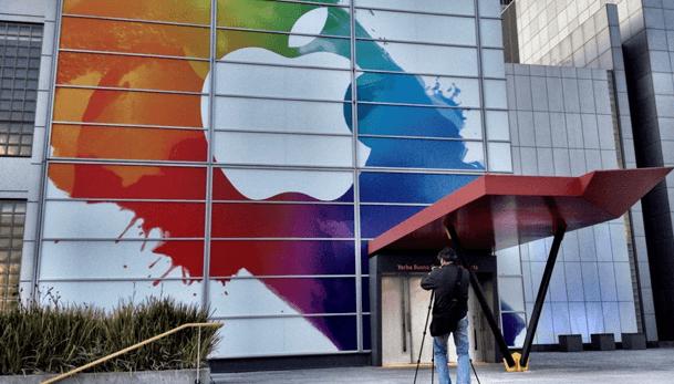 Valor bursátil de Apple supero los US$600,000 millones en cotización
