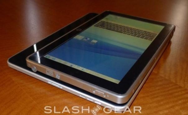 HP: muestra diseño preliminar de tablet con windows 8