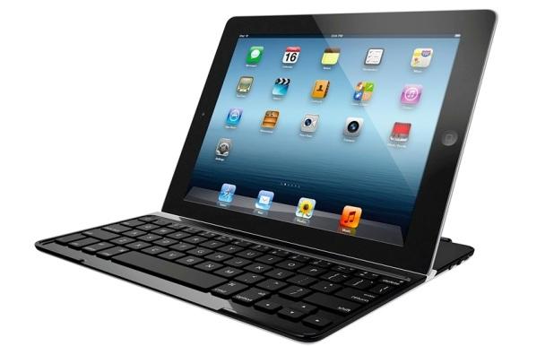 Logitech: lanza novedoso teclado ultra delgado con cubierta para el nuevo iPad