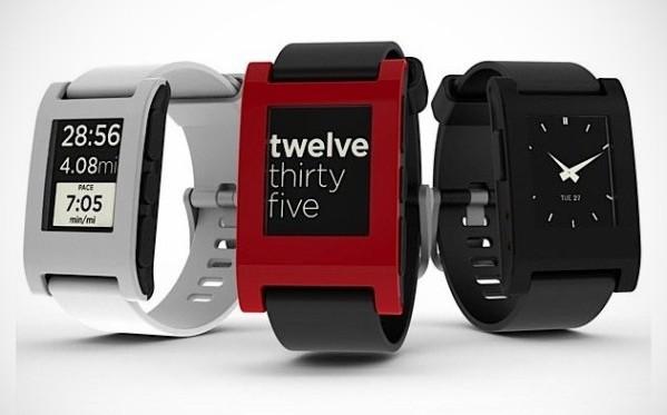 Pebble, el primer reloj con tinta electrónica y conexión a Internet