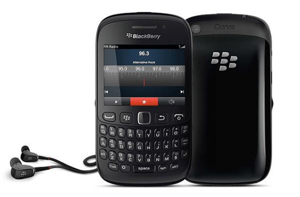 RIM lanza el Blackberry Curve 9220