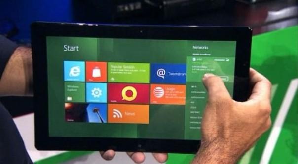 Microsoft lanzará 32 tablets con Windows 8 de bajo precio