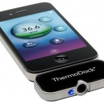 ThermoDock, un dispositivo plug-in para el iPhone que mide la temperatura corporal